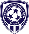 Nipissing District Adult Soccer Club logo